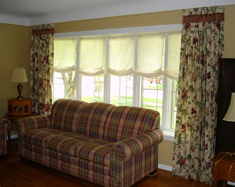window treatment for living room window treatments for bay windows in living room