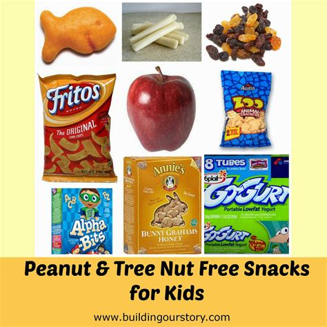 tree fruit allergy list peanut free snack ideas building our story