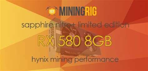 Ethereum Mining 170 Mhs best bios rom for sapphire nitro rx 580 8gb limited