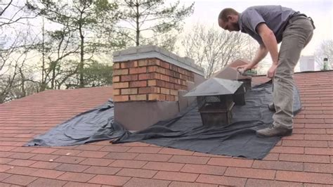 Chimney Mortar Cap Repair - cement chimney crown repair waterproofing with chimney