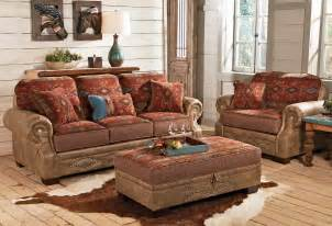 Outdoor Chair And Ottoman Set Ranchero Southwestern Sofa Collection