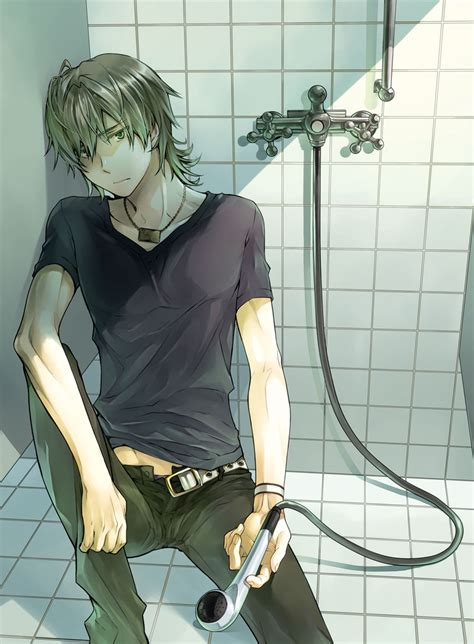 anime bathroom barnaby brooks jr 739449 zerochan