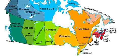 the map of canada with provinces provinces in canada www pixshark images galleries