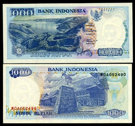 Kertas Segel Tahun 1993 Rp 1000 Langka unik dan seru mata uang jaman dulu