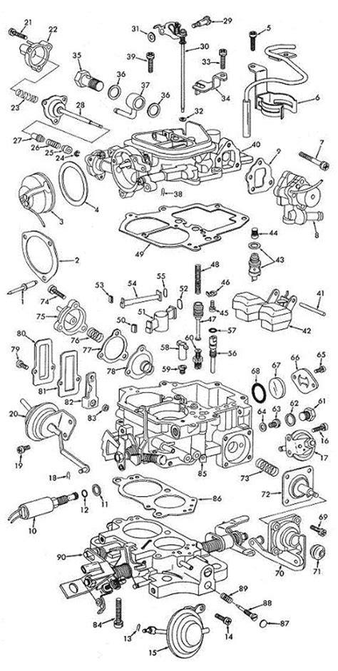 22r carburetor diagram toyota 22r carburetor parts diagram