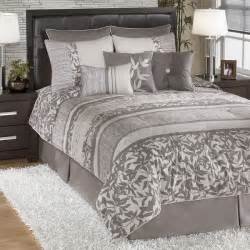 bedding sets gainsville pewter bedding set signature design by