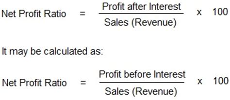 Net Credit Sales Formula Investopedia Sales Revenue Formula Images