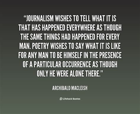 Journalism Quotes by Journalism Quotes Quotesgram