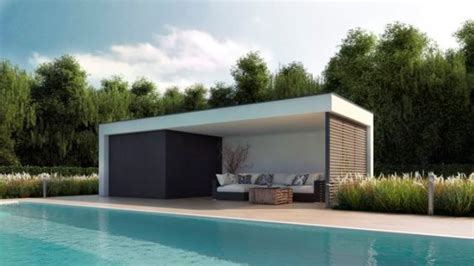 Flat Roof Garage Design how to decorate a pool gazebo 23 ideas shelterness