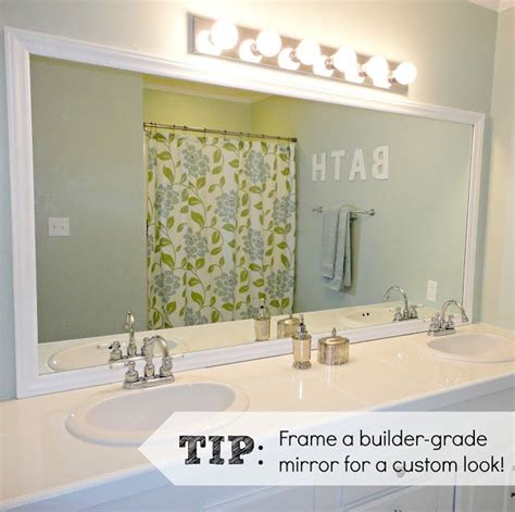frames for bathroom mirrors lowes frame mirror like mirror mates but cheaper at lowes pick