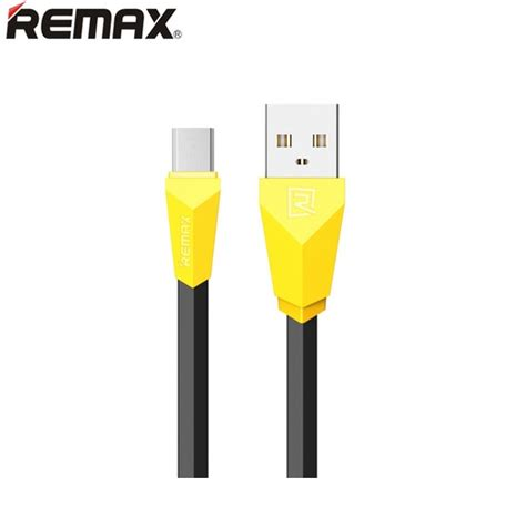 Diskon Remax Speed Micro Usb Cable For Smartphone Murah Meria remax fast charging micro usb cable for smartphone rc 030 black yellow