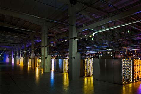 googles high tech data centers idesignarch