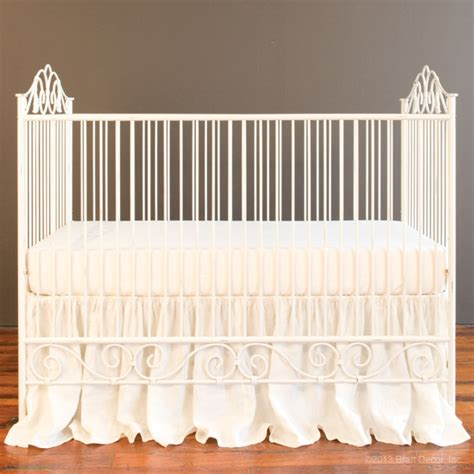 Casablanca Crib Distressed White Distressed Baby Cribs