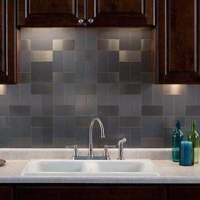 stick on backsplash no grout 11 style setting tiles destined for your backsplash