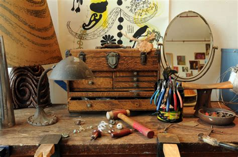 how much do bench jewelers make a jewelry designer in brooklyn fills her home with vintage