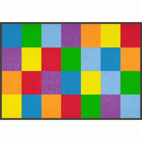 colorful carpet learning carpets colorful grid carpet 5 10 quot x 8 5