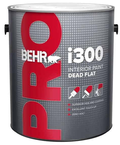 home depot pro x paint behr pro behr pro i300 series interior paint dead flat