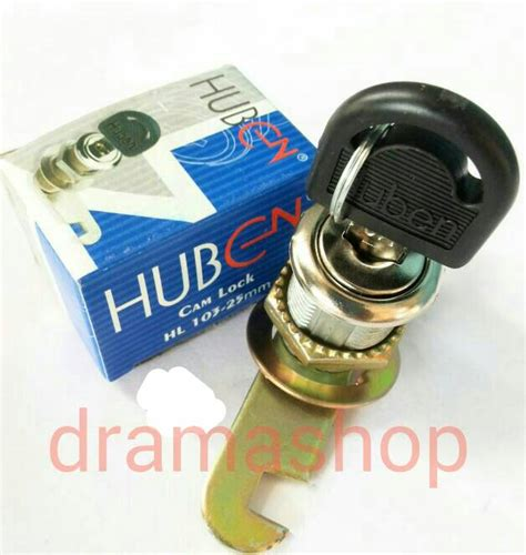 jual kunci locker huben lock 25mm dramashop