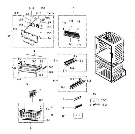 samsung refrigerator parts model rf4287harsxaa0002 sears partsdirect