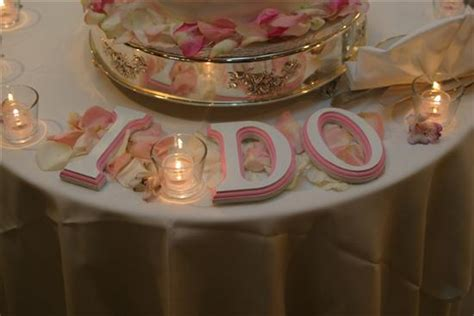 letters for table decorations wedding cake display table on pinterest cake table