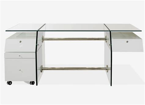 sh04 white lacquer desk executive