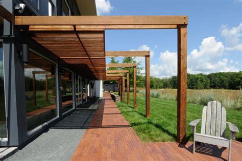 dach für terrasse pergola design terrasse