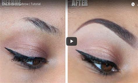 Natural Eyebrow Makeup Tutorial For Beginners | the perfect eyebrows tutorial for beginners easy life hacks