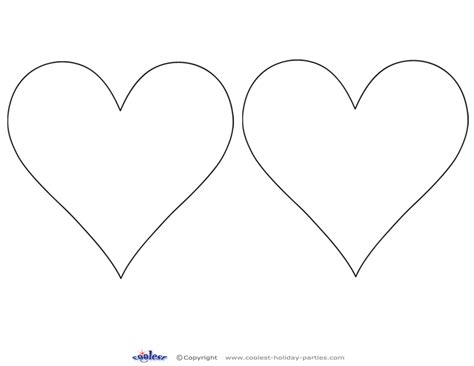 printable heart cut out 2