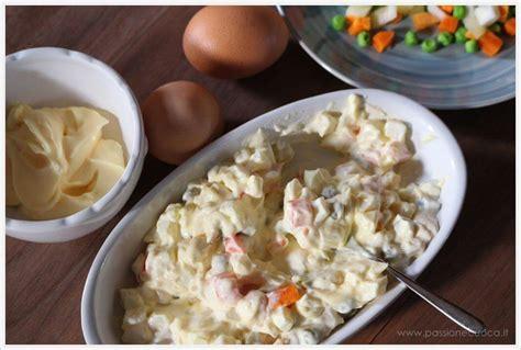 maionese fatta in casa ricetta insalata russa con maionese fatta in casa ricetta