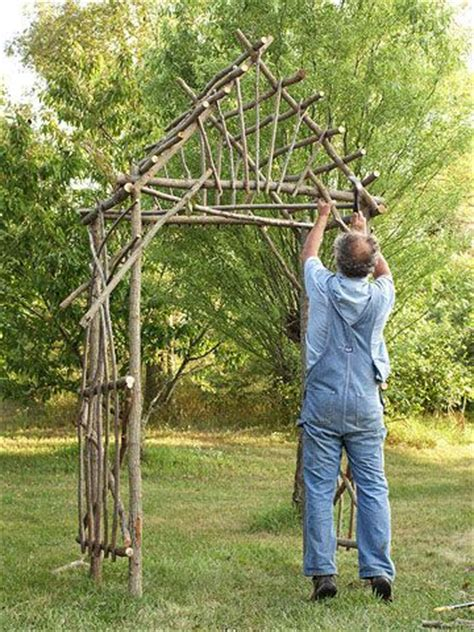 how to build a garden arbor arch woodworking projects plans