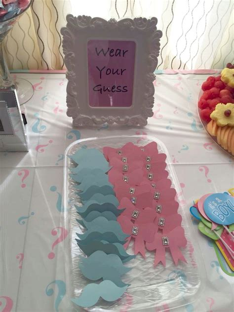 Baby Shower Reveal Ideas by Best 25 Baby Gender Ideas On Baby