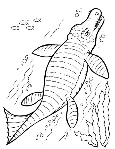 underwater dinosaurs coloring pages coloring pages for kids