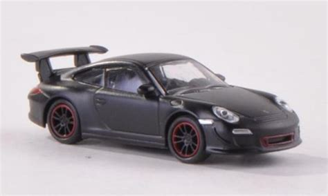 porsche gt3 rs matte black porsche 997 gt3 rs matt black schuco diecast model car 1