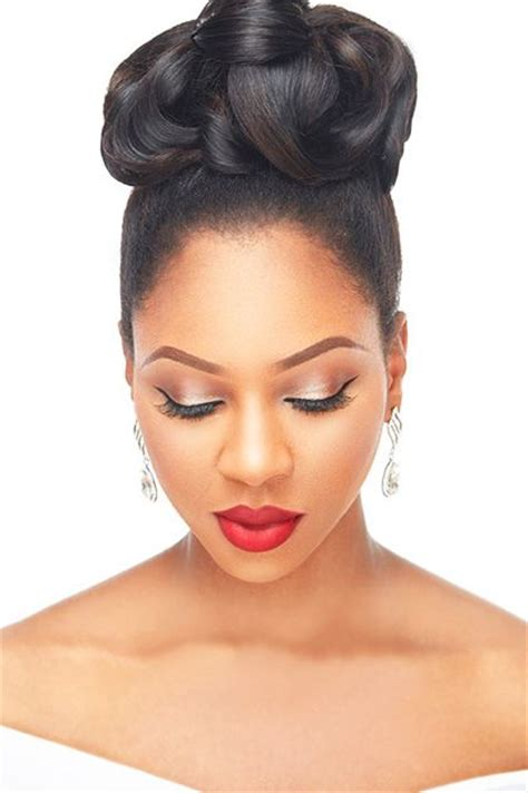 Black Wedding Hairstyles For The by The 25 Best Black Wedding Hairstyles Ideas On