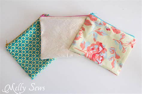 pattern making zipper how to sew a zipper pouch tutorial melly sews