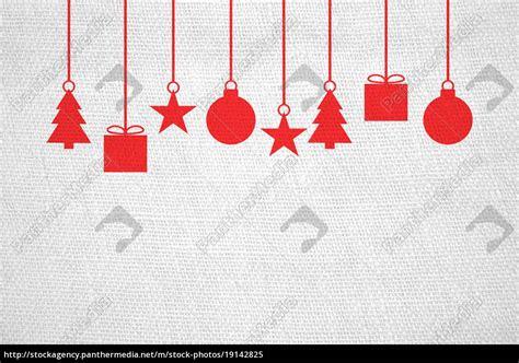 Weihnachtsdeko Fenster Rot by Leinenstoff Mit Weihnachtsdeko Wei 223 Rot Lizenzfreies