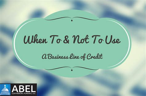 Columbia Mba Offer To Reapply by When To Not To Use A Business Line Of Credit