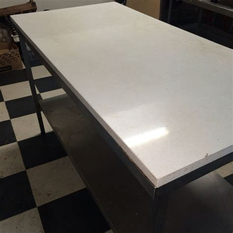 marble top baking table secondhand catering equipment stainless steel tables 1
