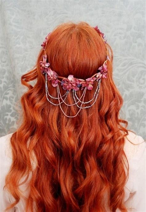 hair cuts and earring tips redhead hair jewelry summer how to be a redhead redhead
