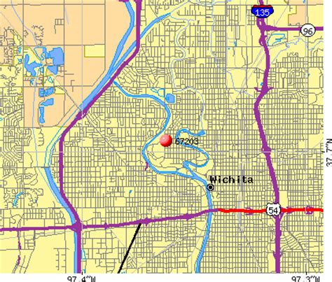 zip code map wichita ks 67203 zip code wichita kansas profile homes