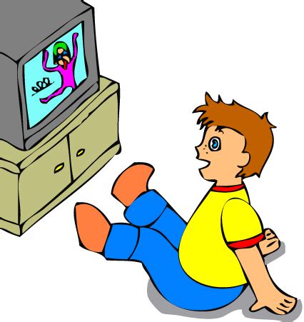 tv clipart menonton pencil and in color tv clipart menonton watching tv clipart clipart panda free clipart images