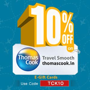 Thomas Cook Gift Card - woohoo gifting blog by qwikcilver