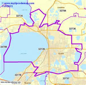 zip code map of 32726 demographic profile residential