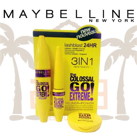 Maybelline 3 In 1 maquillaje maybelline 3 en 1 compacto rimel y delineador