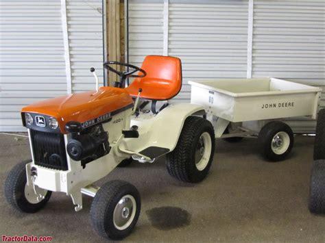 deere patio tractor tractordata deere 120 tractor photos information