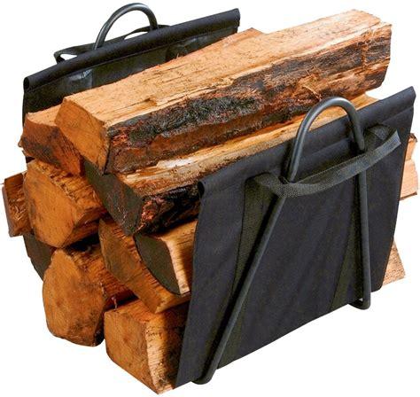 fireplace log carrier log carrier and log basket in one log rack log holder log sling accessory ebay