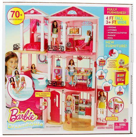 barbie dream house doll barbie dreamhouse walmart canada