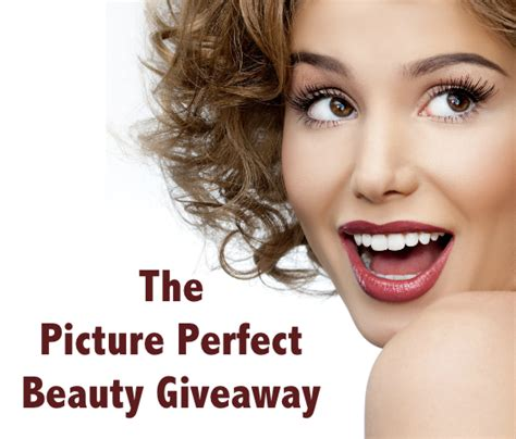 Giveaway Beauty - the picture perfect beauty giveaway win beauty products