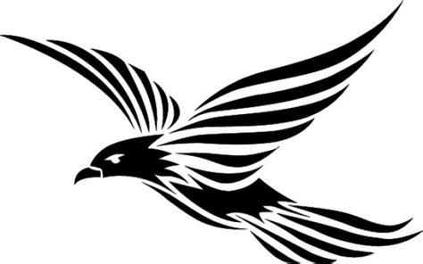 tato kalajengking simple fliegenden vogel stammes design download der kostenlosen