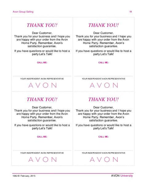 avon calling card templates avon order form printable hardhost info